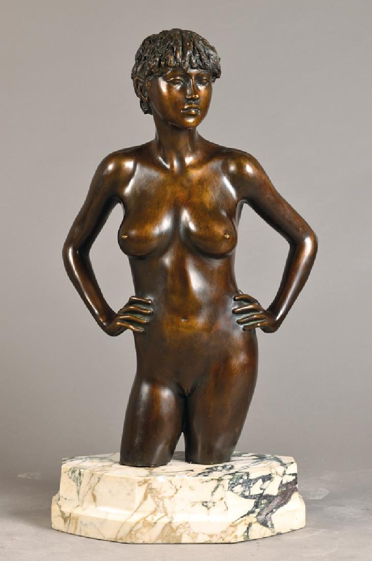 Large bronze sculpture