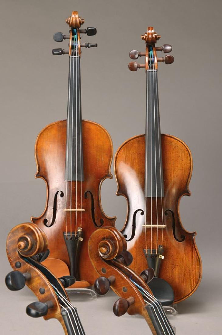 two violins, german