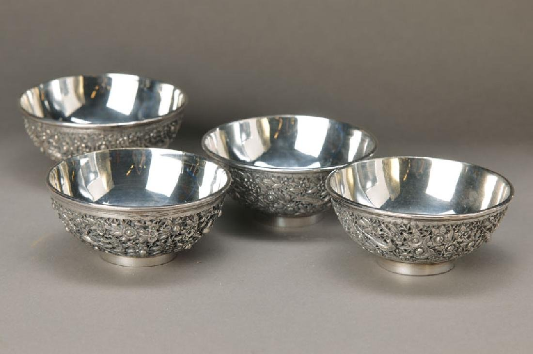 Four small bowls