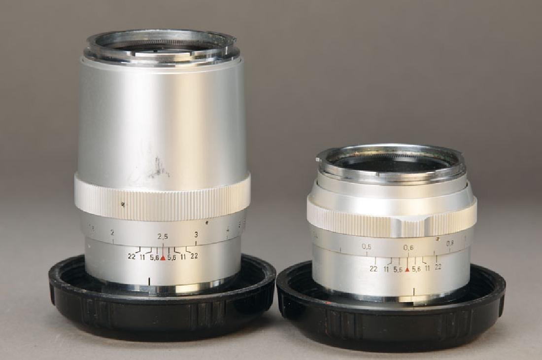 2 lenses Carl Zeiss