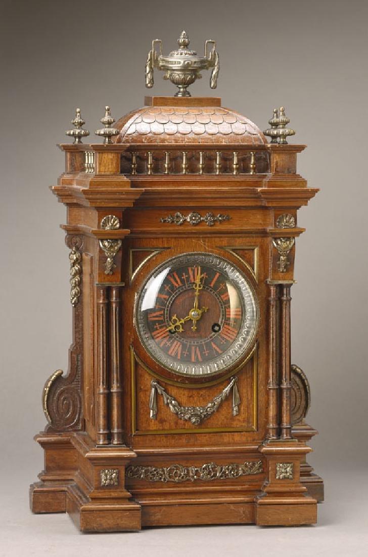 table clock, France