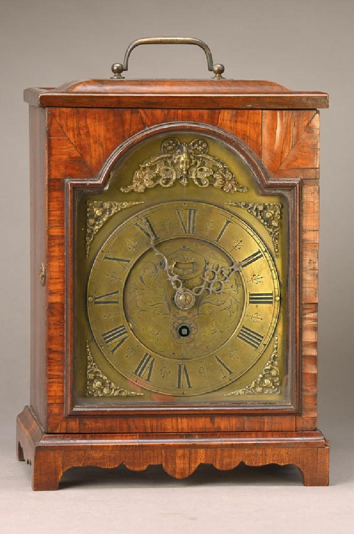 table clock, England