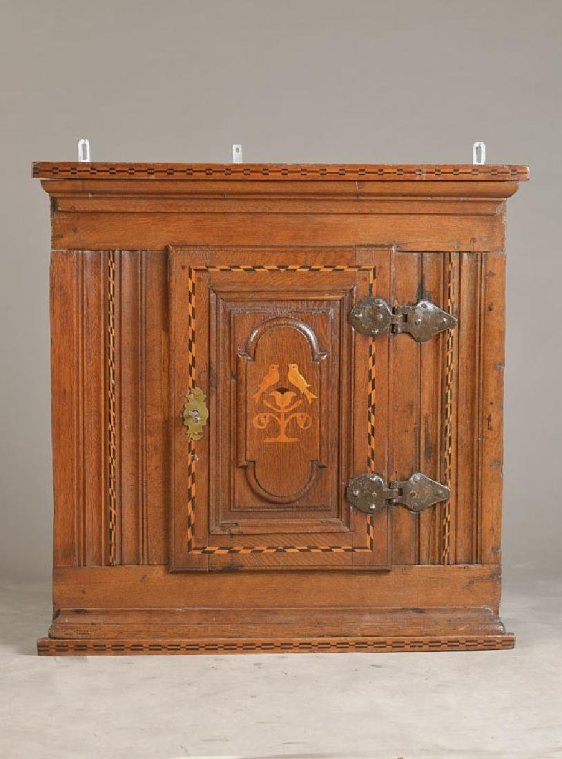 Baroque corner cupboard