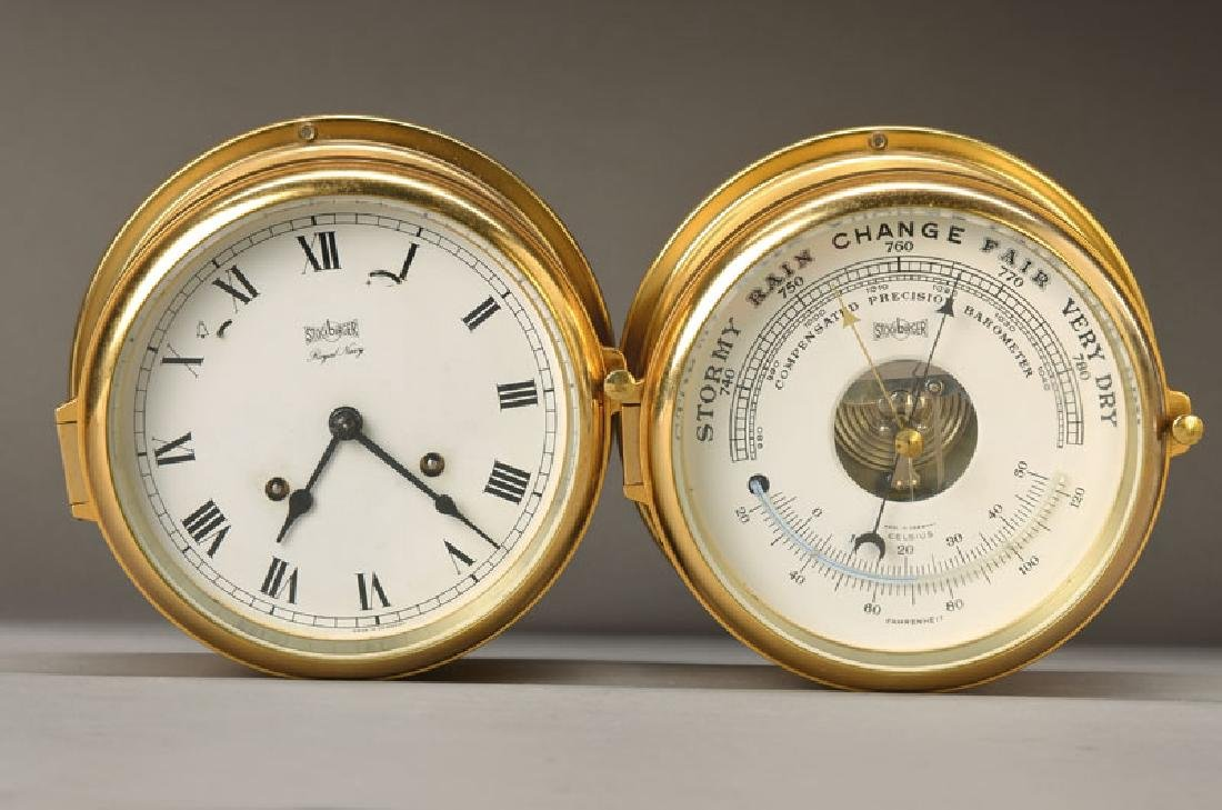barometer and Ship's Clock