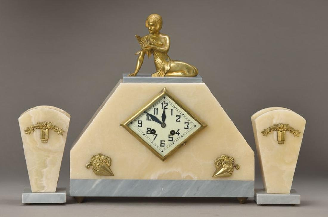 3-piece clock, France