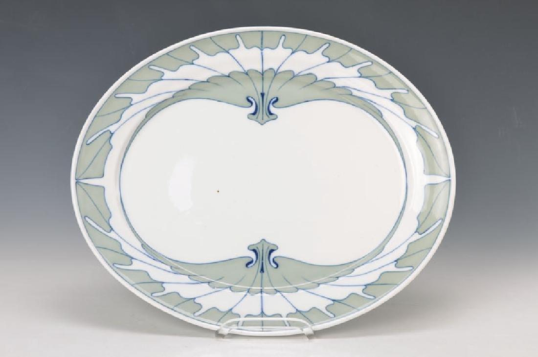 serving platter, Meissen