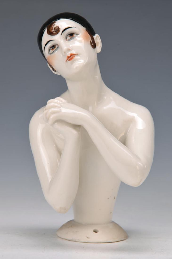 Elegante half doll/Tea doll