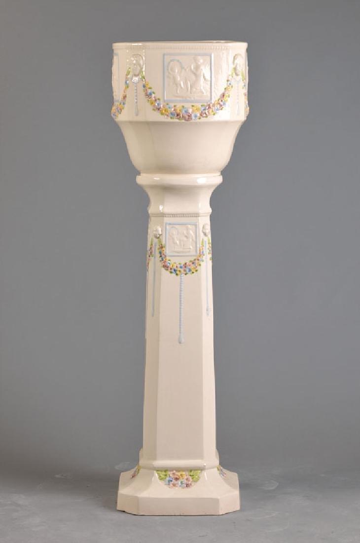 column for flowers