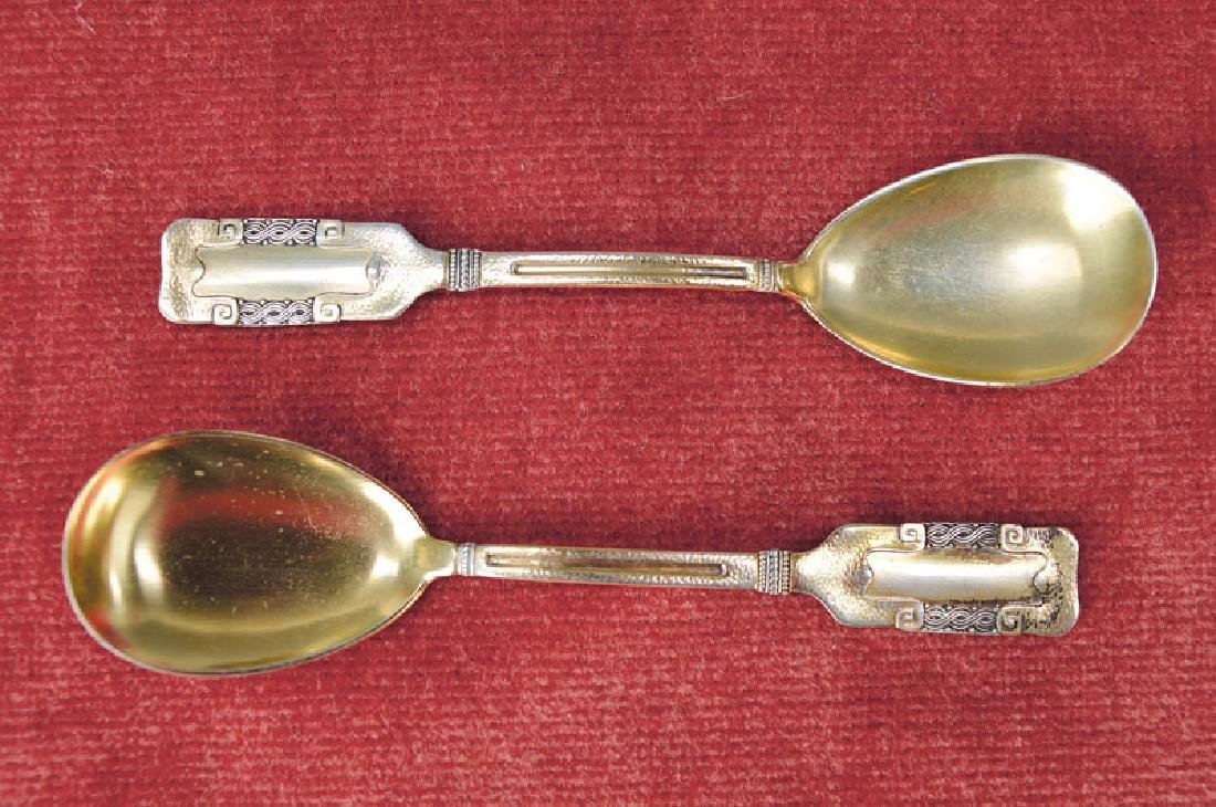 pair of ice spoons