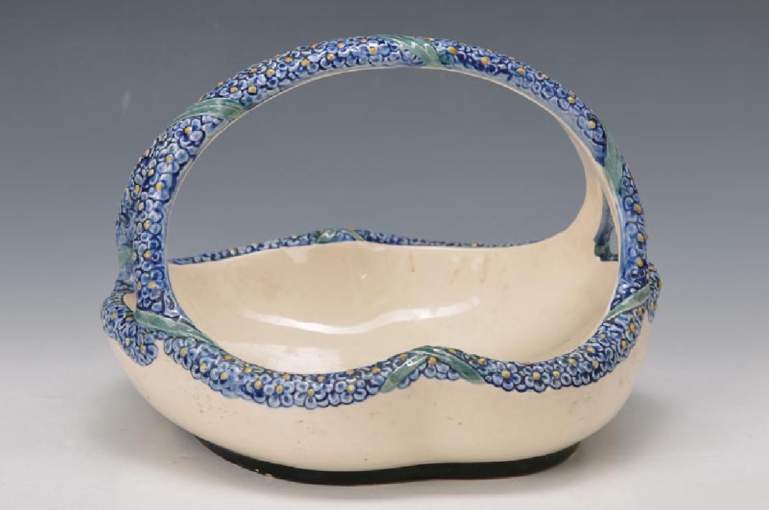bowl, Karlsruher majolica