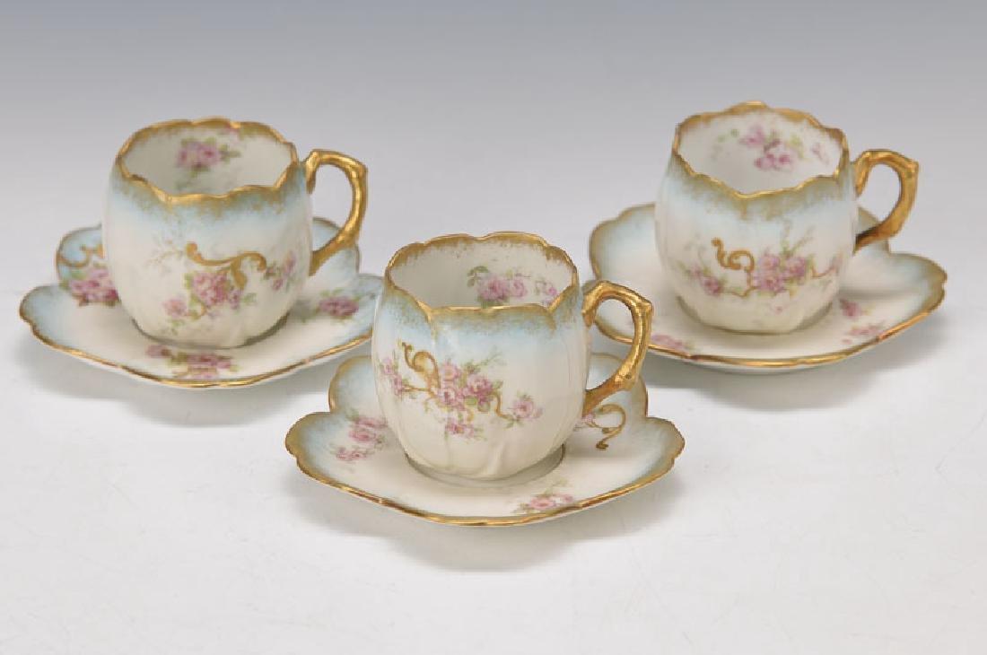6 Mocha- respectively Espresso cups
