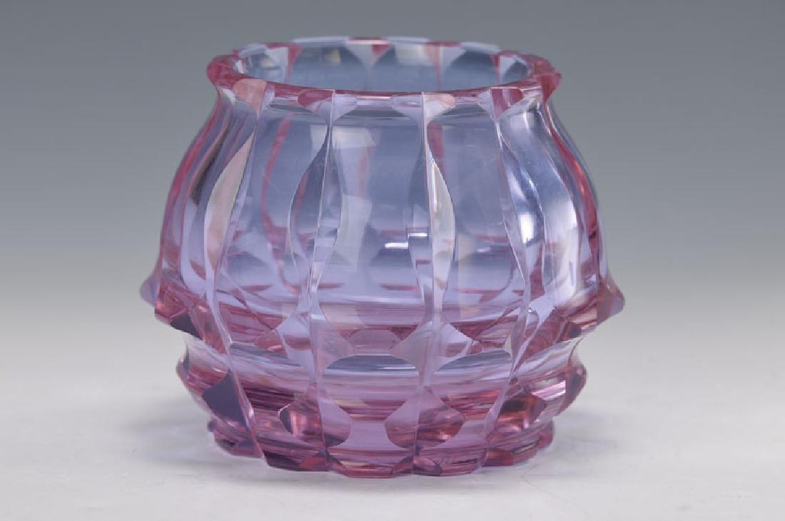 vase, Moser, 1920s