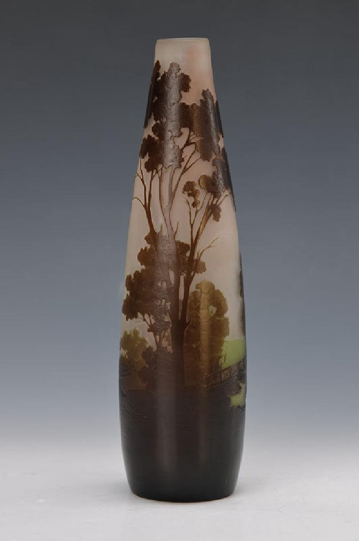 vase, Gallé, around 1910