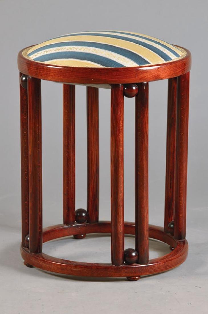stool, designed by Joseph Hoffmann