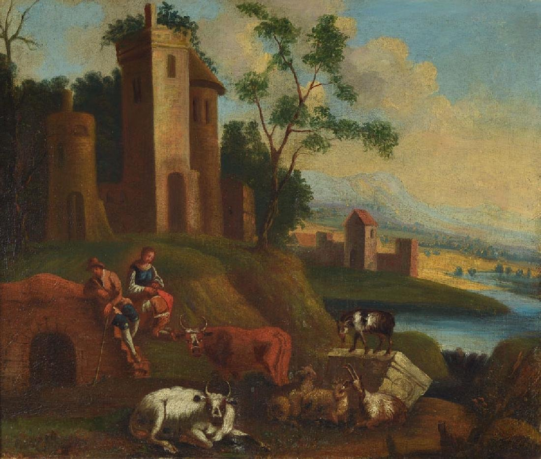 painting after Philipp Peter Roos