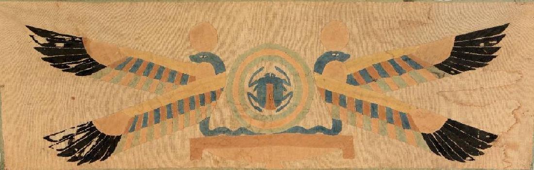 Egypt Aplike 'Textile' (Skarabaeus),