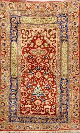 Silk Metal Thread Istanbul Rug