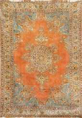 Fine Silk Metal Thread Istanbul Cinar Small Carpet