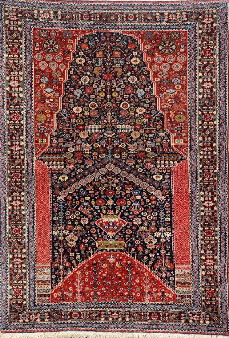 Fine Gashguli Rug (Mille-Fleur Design),