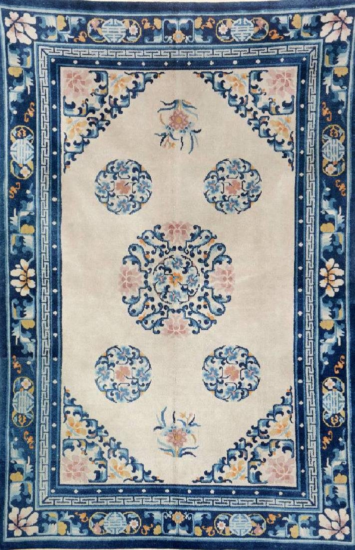 Fine Chinese Rug (Antique-Finished),