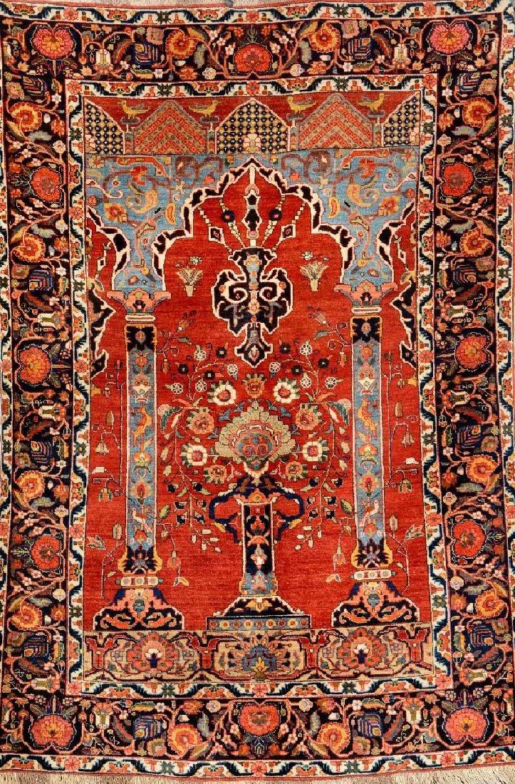 West Persian 'Column' Rug,