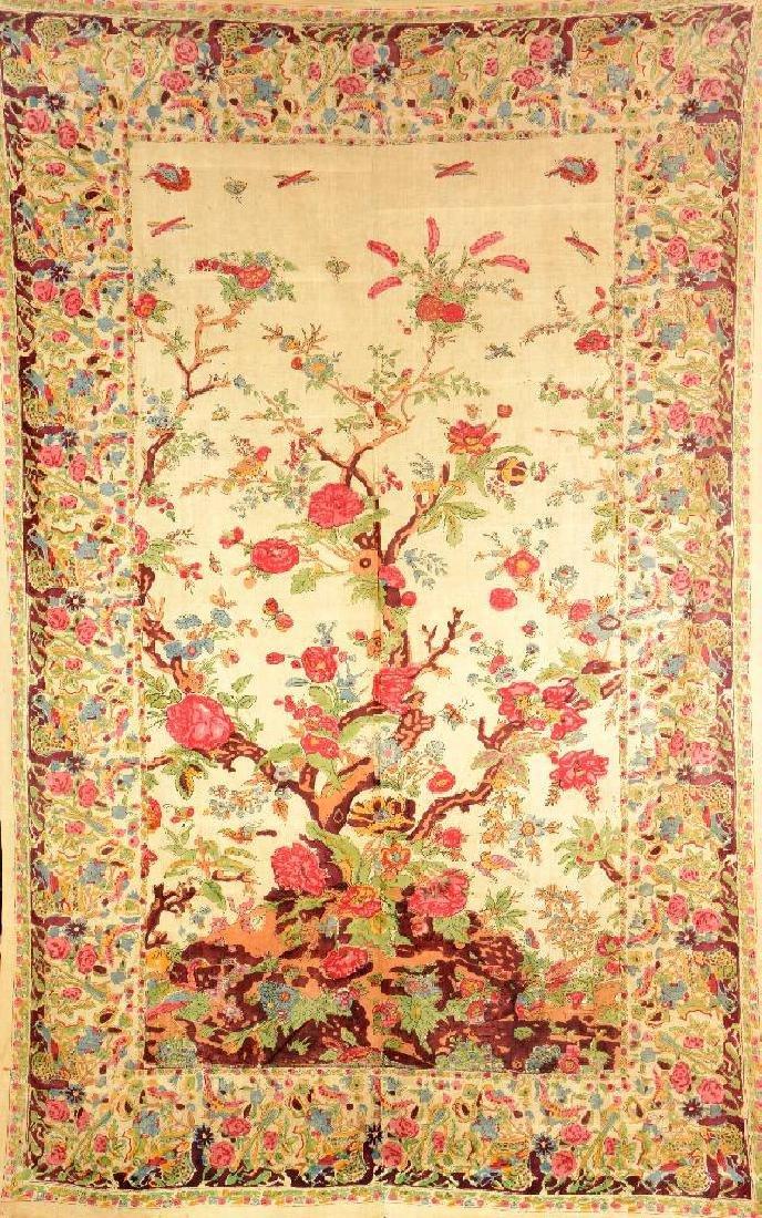 Isfahan-Qalamkar 'Textile' (Tree Design),