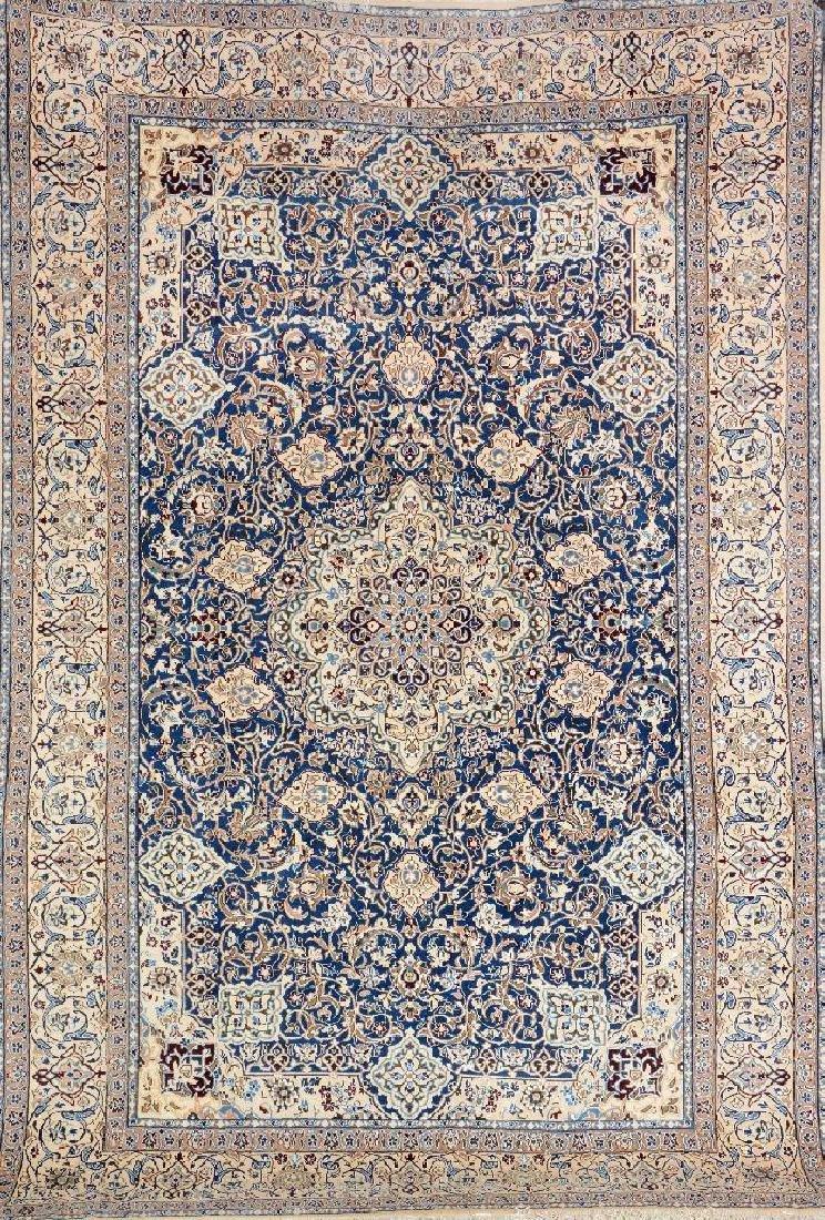 Nain 'Part-Silk' Carpet,