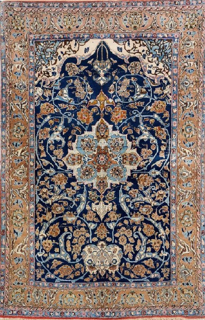Qum 'Part-Silk' Rug,