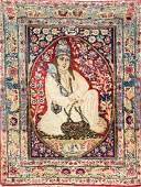 Kirman 'Pictorial-Rug' (Derwish Motif) 'Signedby Ali