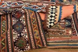 (11 Lots) Mafrash 'Single-Panels' & small Flatweaves,