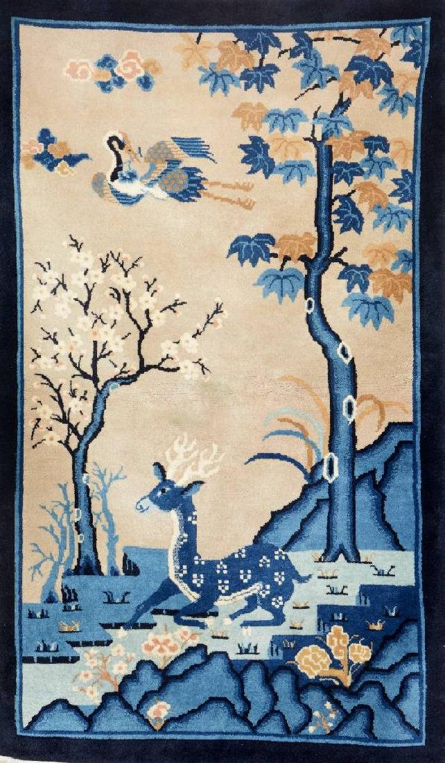 Fine Chinese 'Pictorial-Rug',