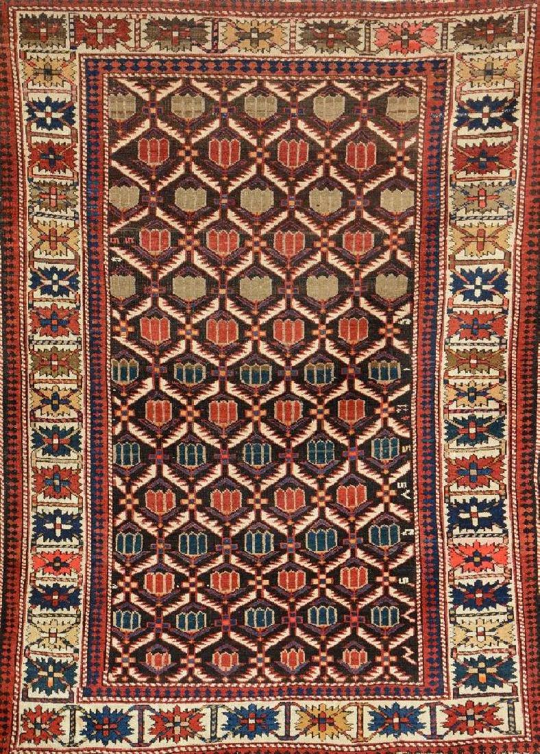 Caucasian Derbend Rug,