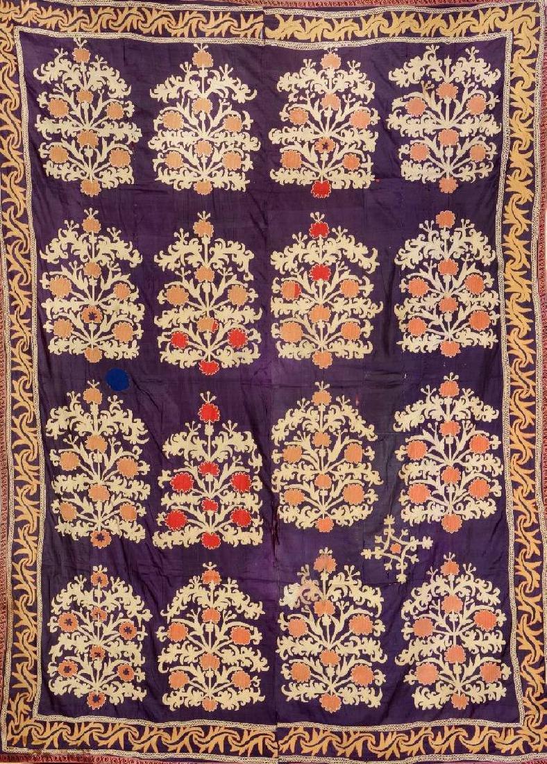 Suzani-Ikat 'Embroidery',