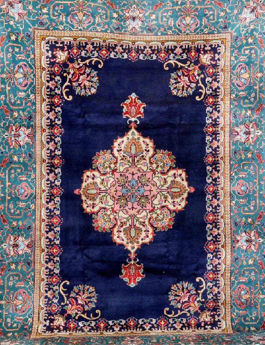 Tabriz 'Amirkhiz' Carpet (Signed),