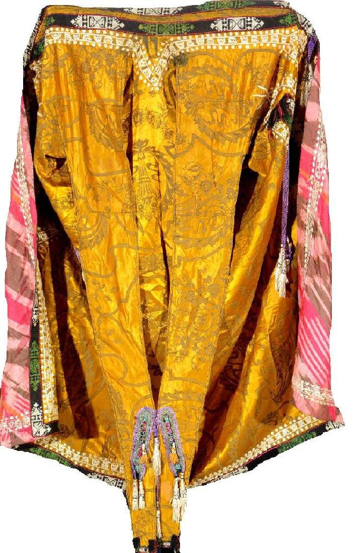 Yellow Uzbek Silk 'Coat' (Wedding Coat),