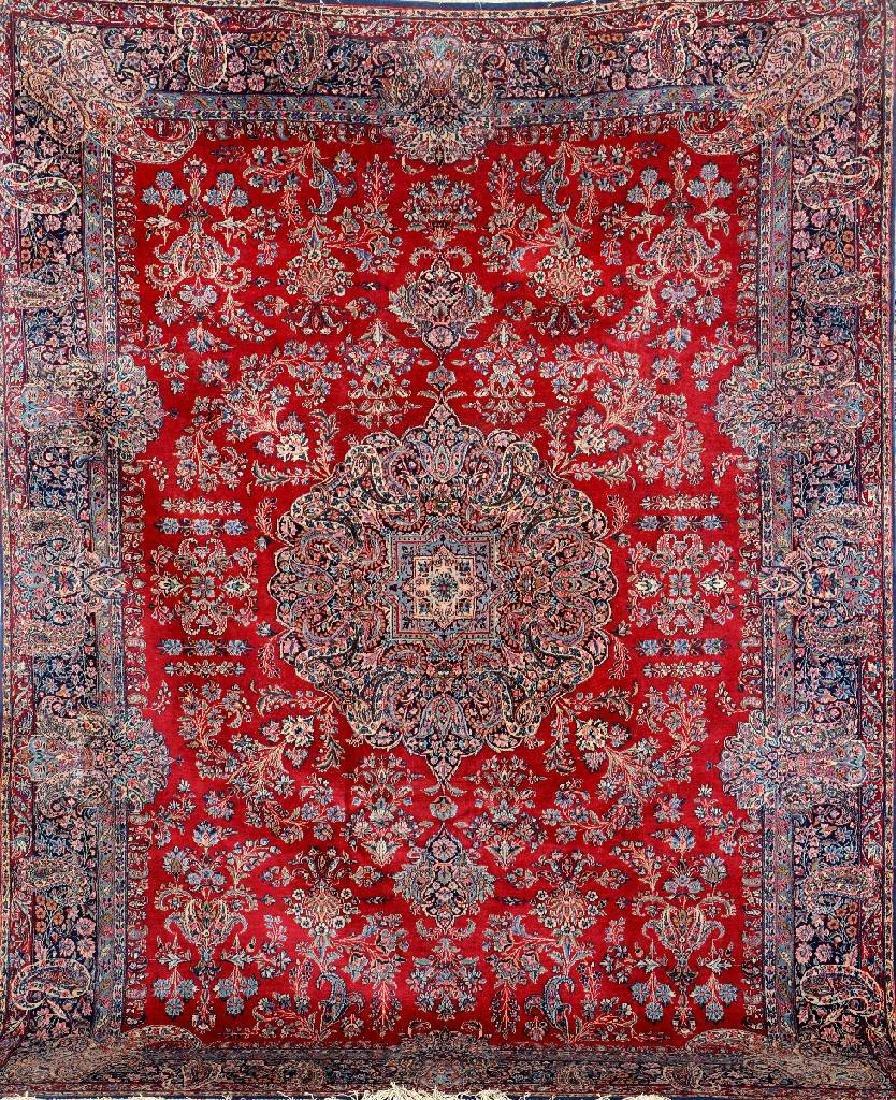 Fine Kirman Carpet,