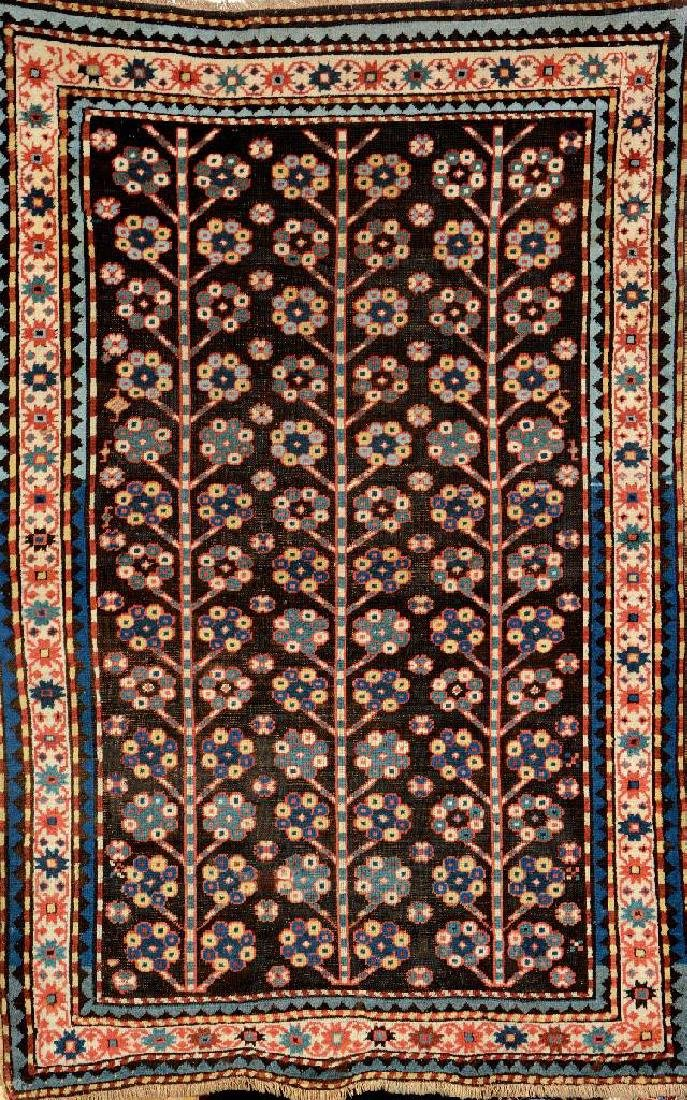 Early Karabagh Rug (Tree Design),