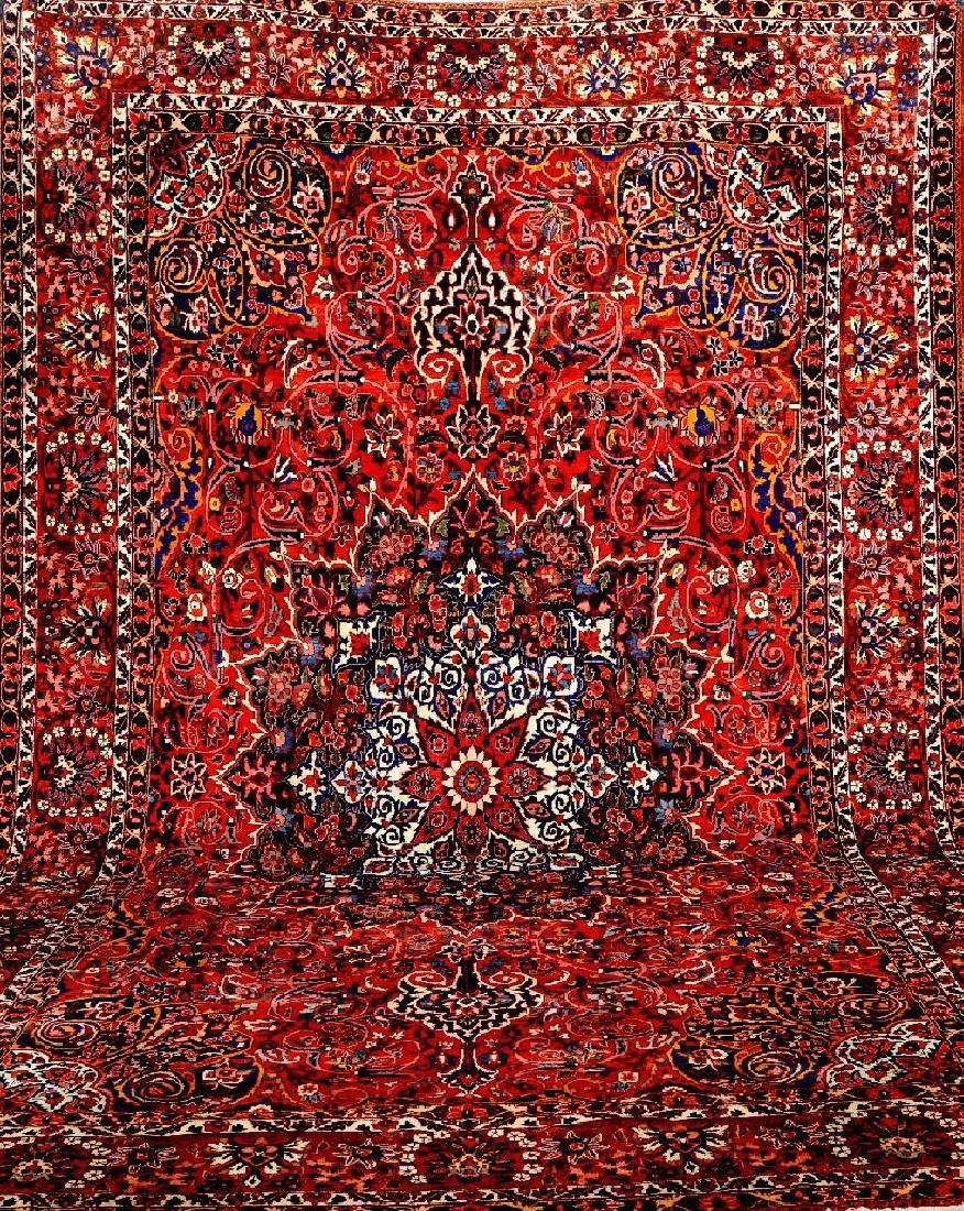 Large Bakhtiari Carpet,