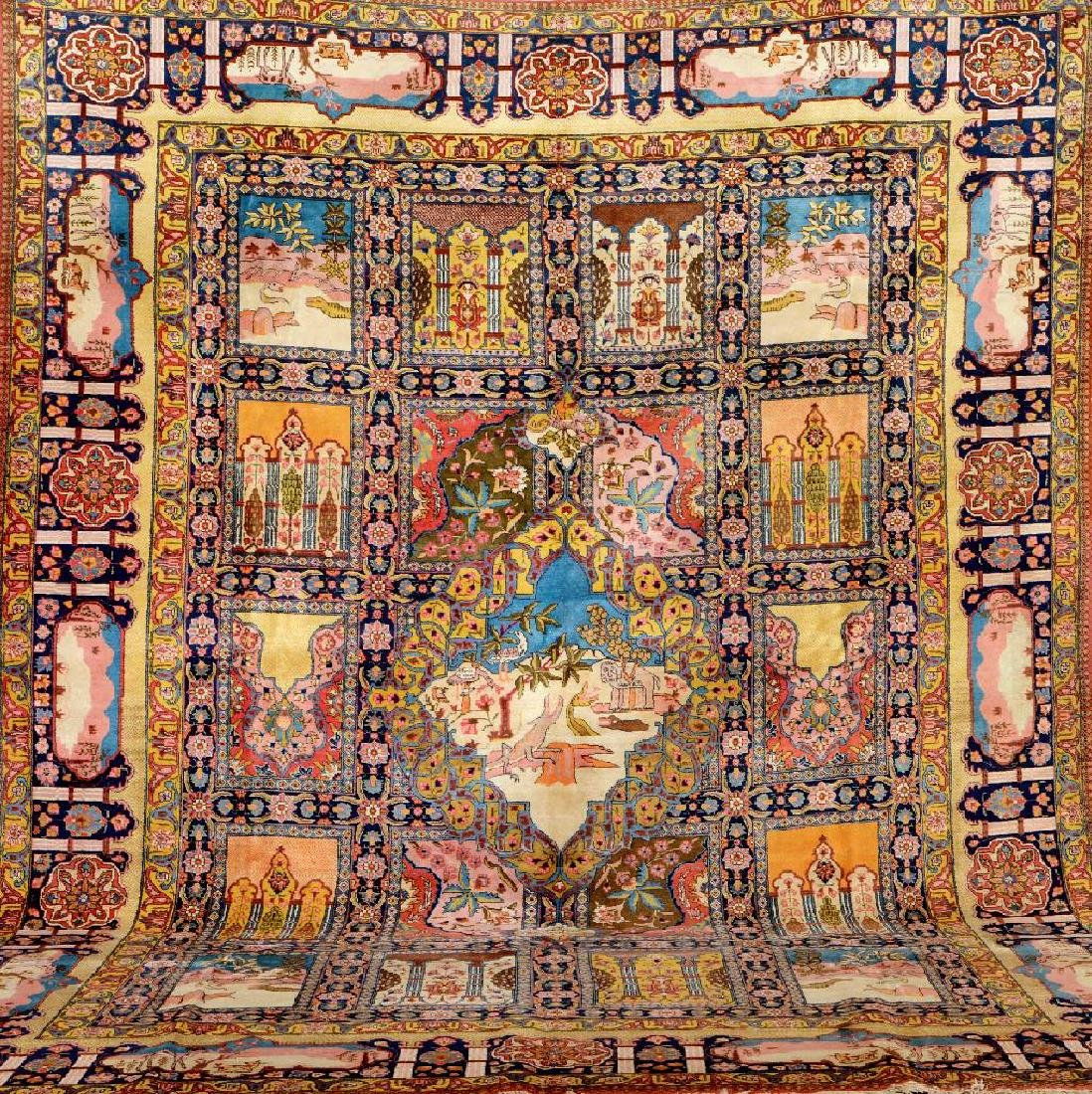 Large Tabriz Carpet (Paradise Design),