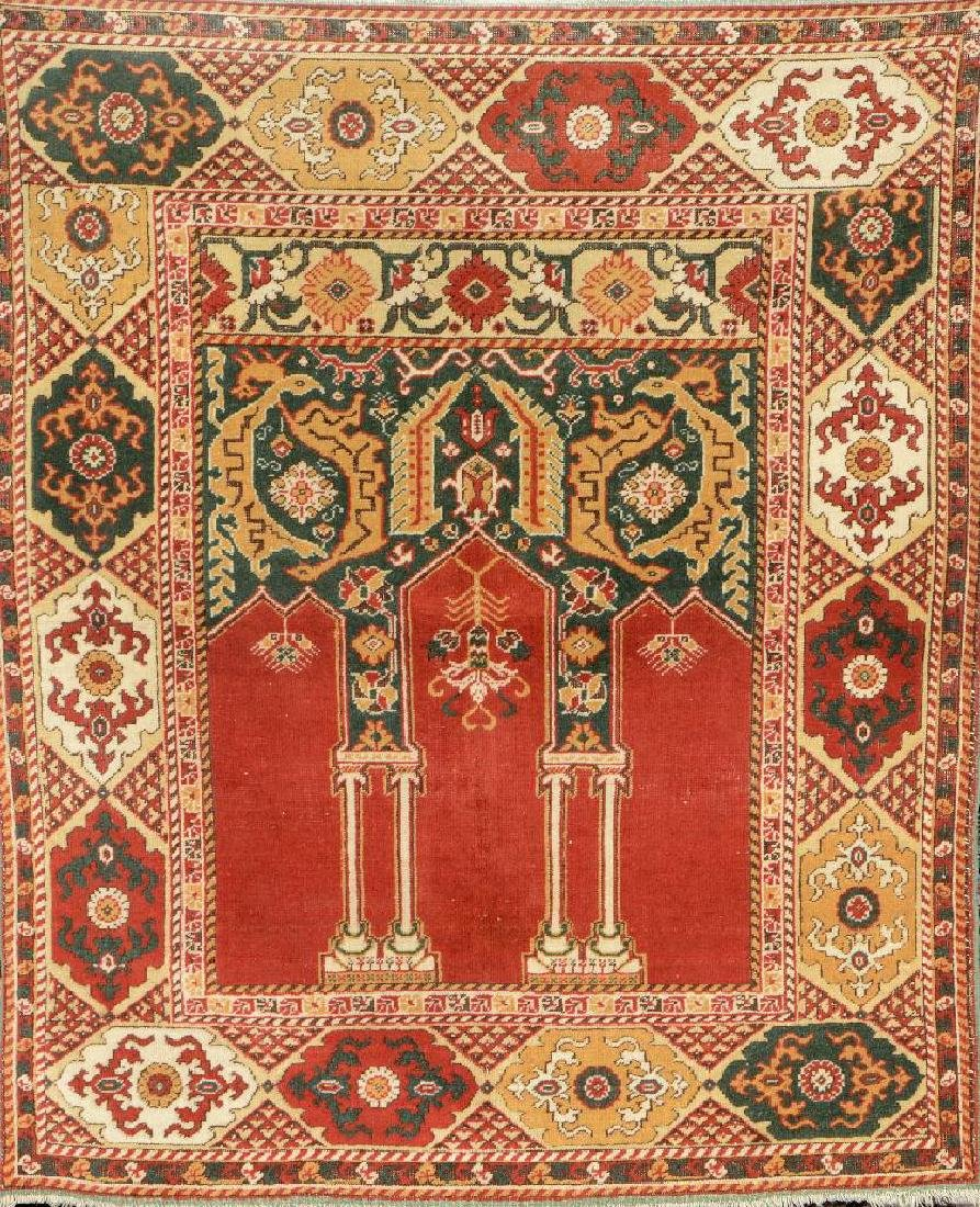 Romani 'Prayer-Rug' (Probably Toduc- Workshops),