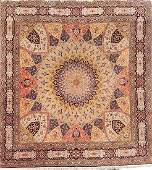 Fine Tabriz 'Part-Silk' Carpet (50 RAJ),