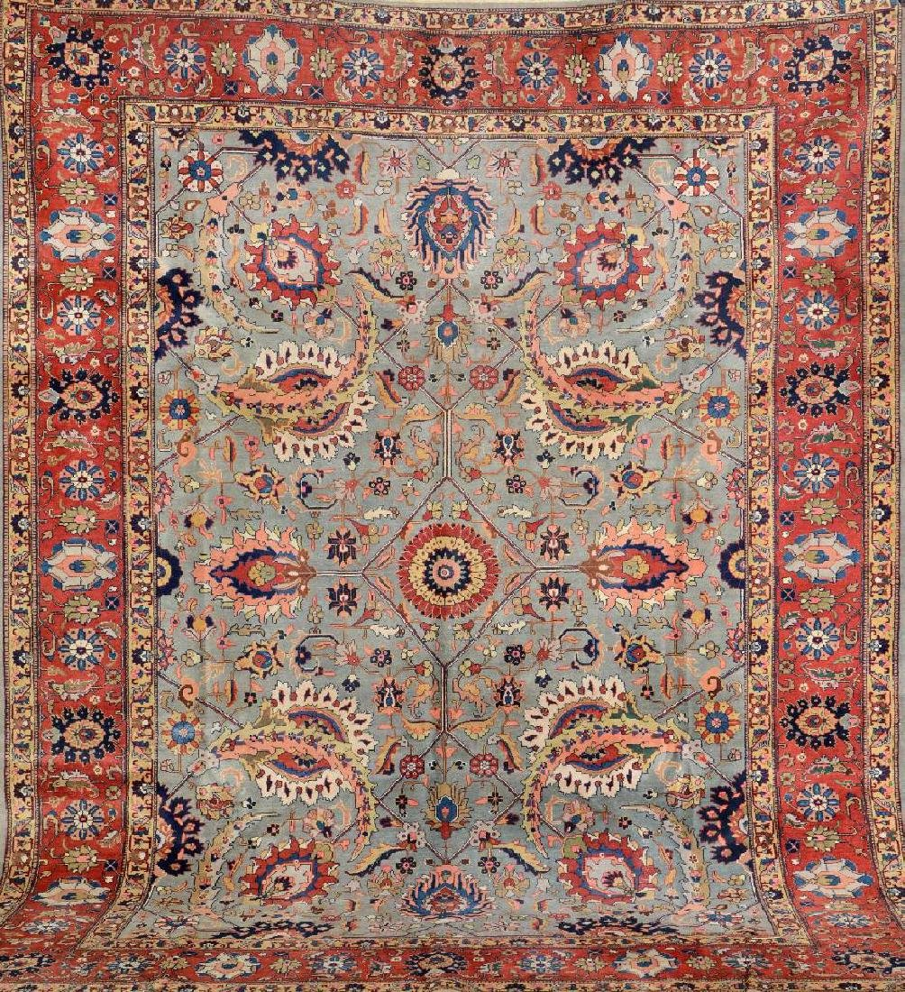 Tabriz Carpet (Sickle-Leaf Motifs),