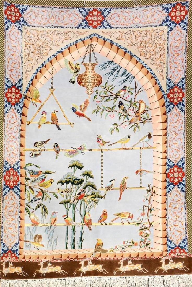 Fine Tabriz 'Part-Silk' Rug '50 RAJ' (Chehel- Tutti