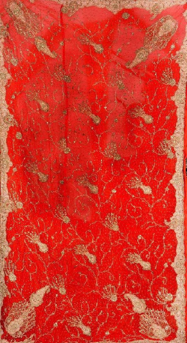 Ottoman Silk & Metal-Thread 'Textile',