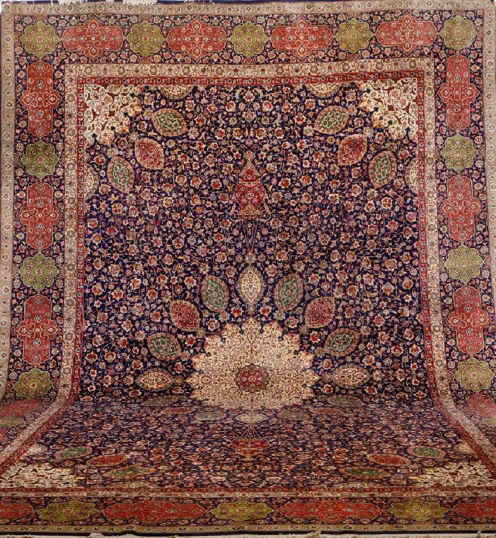Large Tabriz 'Sheik-Safi Design' Carpet (50 RAJ),