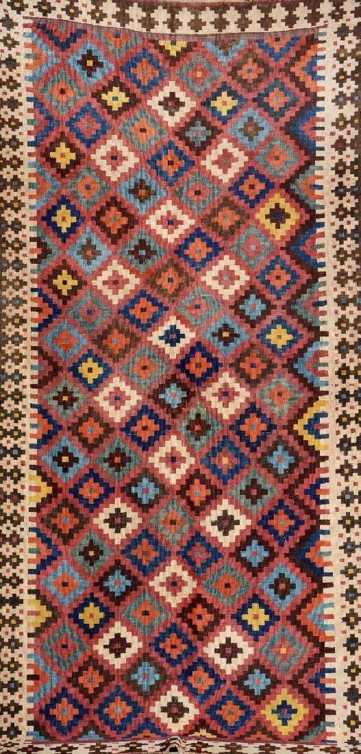 Bakhtiari 'Kilim' (Multicolor Field),