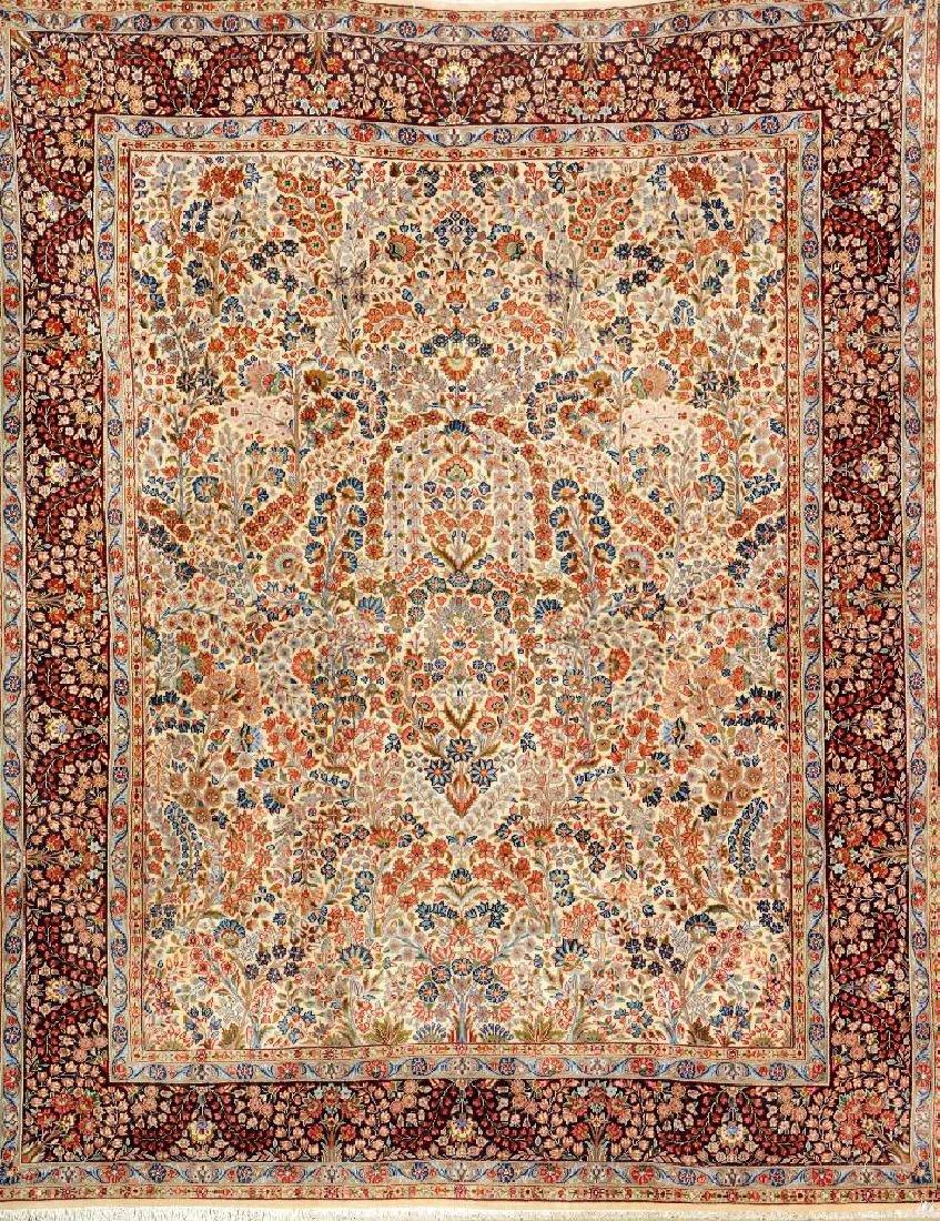 Kirman Rug (Mille-Fleur Design),