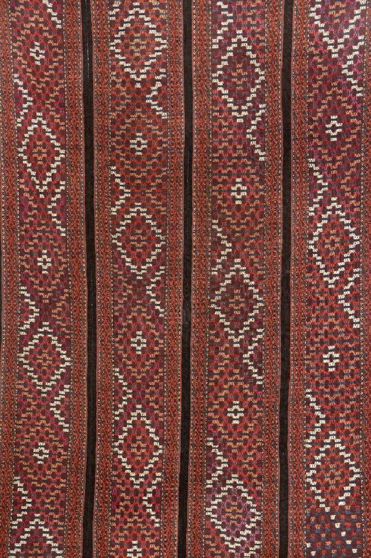 Yomud 'Part-Silk' Tent-Band 'Patch' (Fragment),