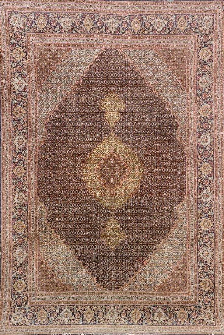 Tabriz 'Part-Silk' Carpet,