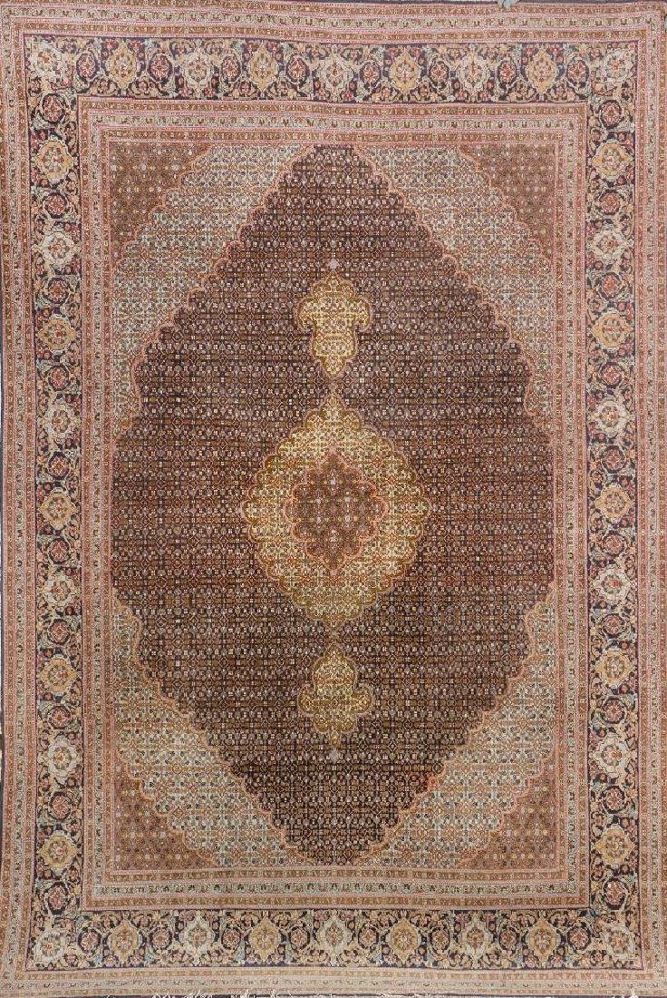 Tabriz 'Part-Silk' Carpet,